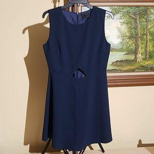 Blaque Label navy blue cut-out dress C53
